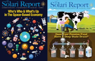 Image result for solari report who's who and what's up space economy